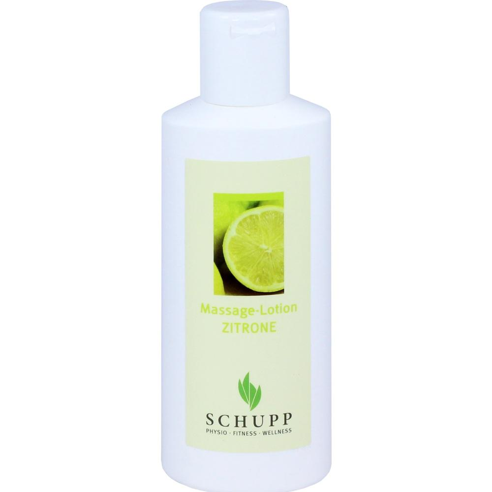 Schupp GmbH & Co. KG MASSAGE LOTION Zitrone 01041751