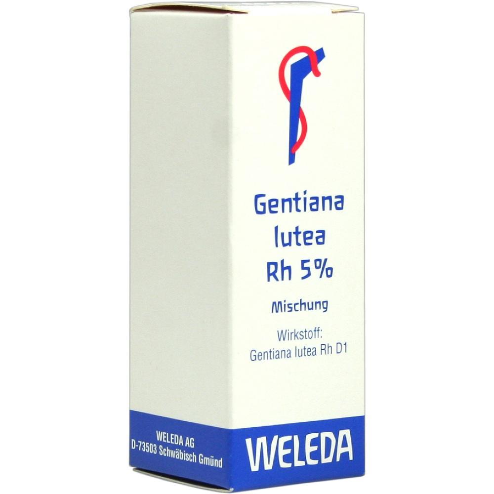 Weleda AG GENTIANA LUTEA RH Presssaft 5% Dilution 01630217