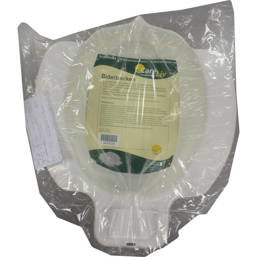Careliv Produkte OHG BIDET BECKEN Kunststoff weiß 04433026