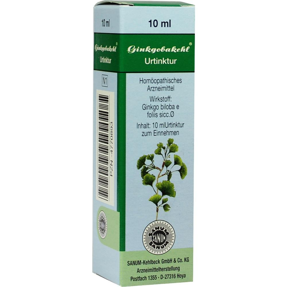 Sanum-Kehlbeck GmbH & Co. KG GINKGOBAKEHL Tropfen 04770893