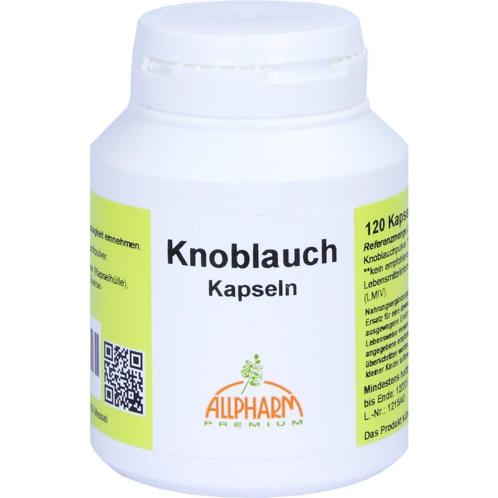 Allpharm Vertriebs GmbH KNOBLAUCH KAPSELN 05856295