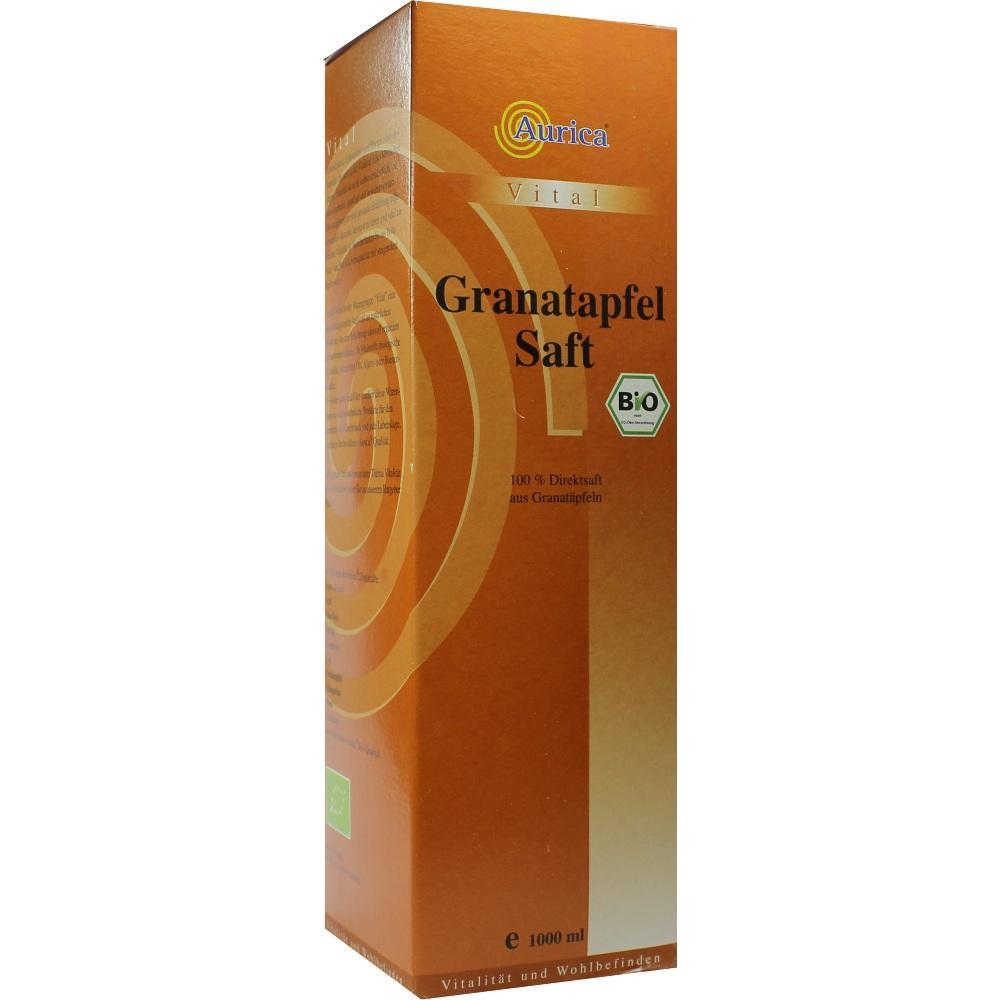 Aurica Naturheilmittel GRANATAPFEL 100% Direktsaft Bio 06810361