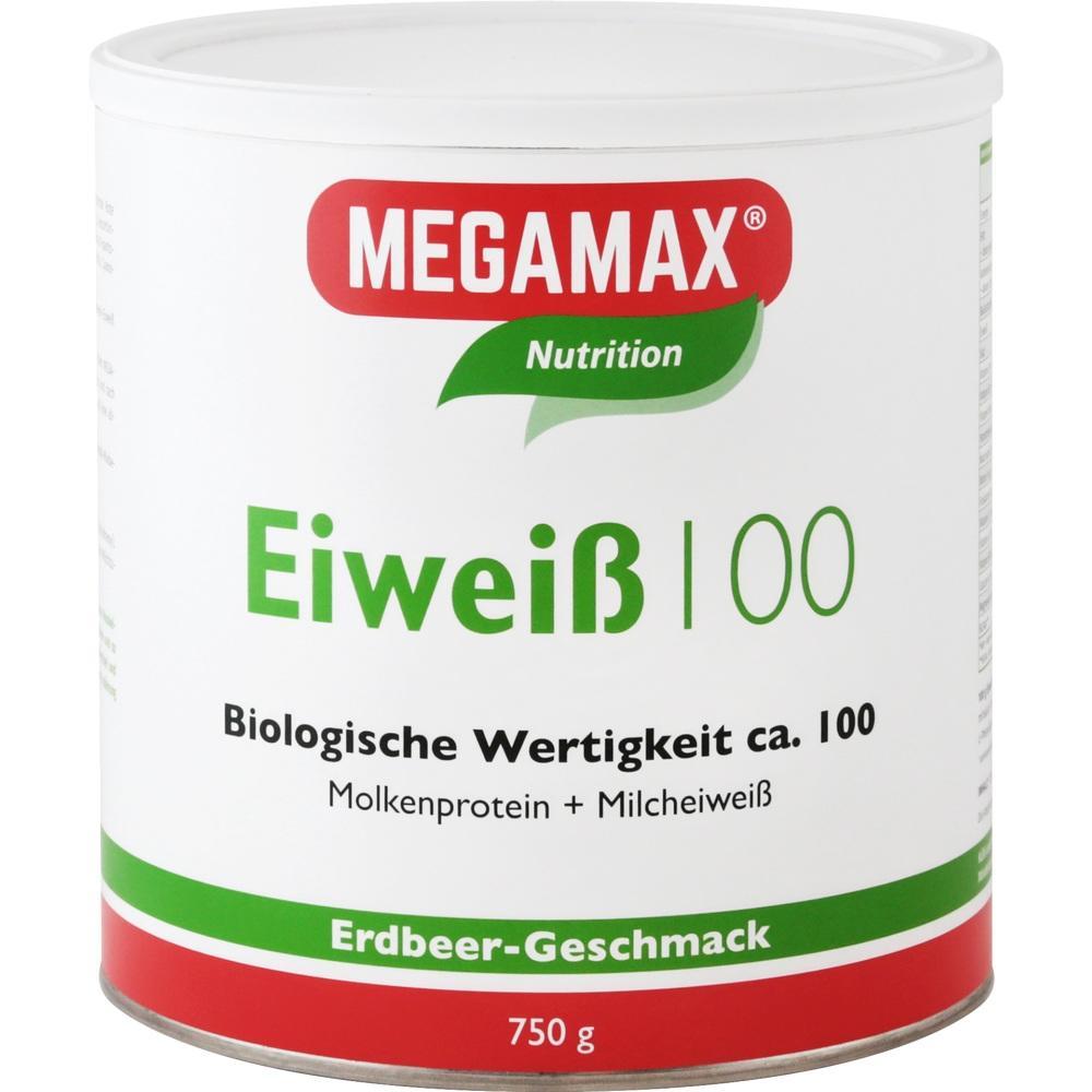 Megamax B.V. EIWEISS 100 Erdbeer Megamax Pulver 07345860