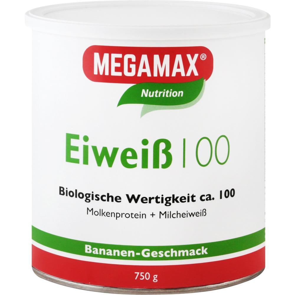 Megamax B.V. EIWEISS 100 Banane Megamax Pulver 07345877