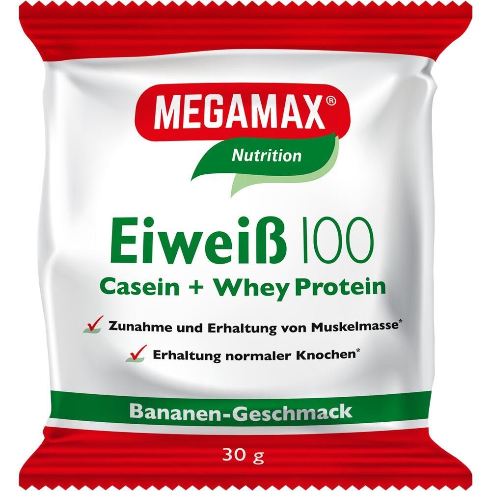 Megamax B.V. EIWEISS 100 Banane Megamax Pulver 09198050