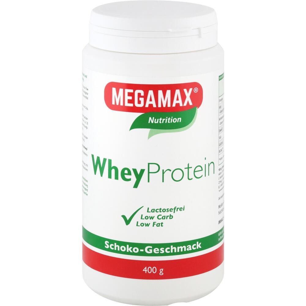 Megamax B.V. Wheyprotein Lactosefrei Schoko Pulver 09476721