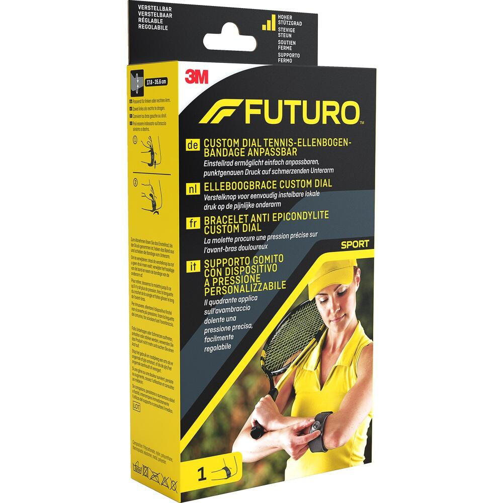 3M Medica Zweigniederlassung 3M Deutschland GmbH FUTURO CustomDial Tennisellenbogenbandage alle Größen 10186572