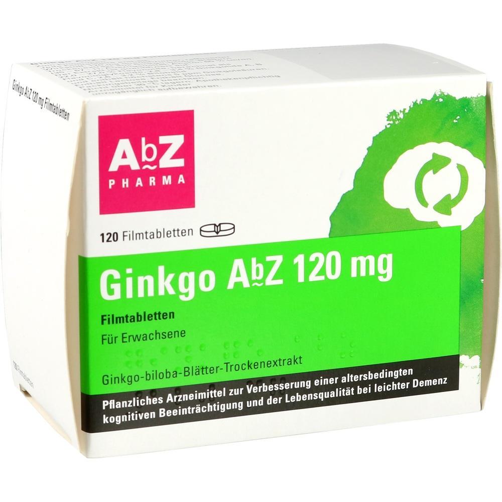 AbZ-Pharma GmbH Ginkgo AbZ 120 mg 14164739
