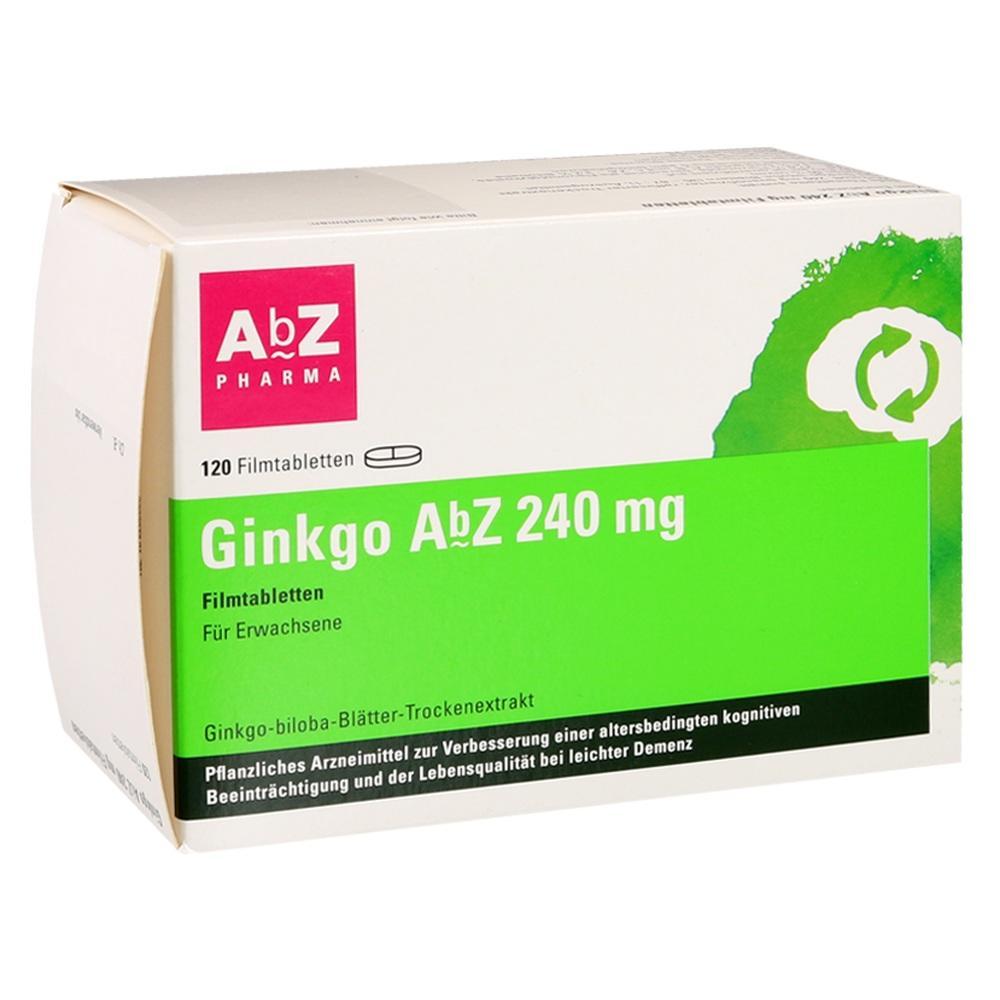 AbZ-Pharma GmbH Ginkgo AbZ 240 mg 14164745