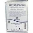 Rettungsdecke 160x220 Cm Silber/silber PZN: 00169992