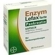 Enzym Lefax Forte Pankreatin Magensaftres.kapseln PZN: 00395429