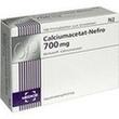 Calciumacetat Nefro 700 Mg Filmtabletten PZN: 00434052