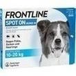 Frontline Spot On H 20 Lösung F.hunde PZN: 00662882