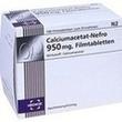 Calciumacetat Nefro 950 Mg Filmtabletten PZN: 03078184