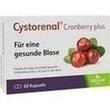 Cystorenal Cranberry Plus Kapseln PZN: 05022549