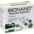 Bionano Blutzucker-teststreifen PZN: 06581535