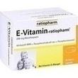 E Vitamin Ratiopharm Kapseln PZN: 09385243