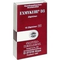 Abbildung Exmykehl D 3  Zäpfchen