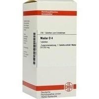 Abbildung Madar D 4  Tabletten