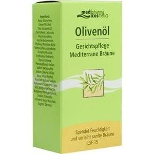 Olivenöl gesichtspflege mediterrane bräune creme