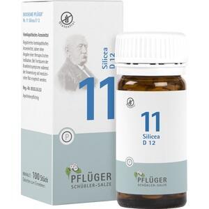Biochemie Pflüger Nr. 11 Silicea D 12  Tabletten