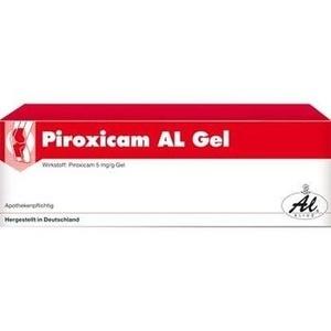 Piroxicam Al Gel Preisvergleich