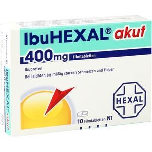 Ibuhexal Akut 400 Preisvergleich