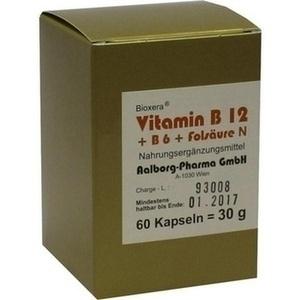 VITAMIN B12 + B6 + Folsaeure Komplex N Kapseln Preisvergleich