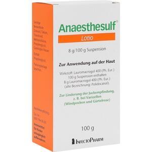 Anaesthesulf Lotio Preisvergleich