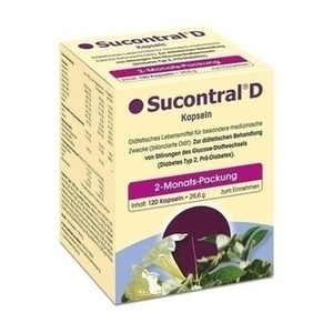 Sucontral D Diabetiker Kapseln Preisvergleich