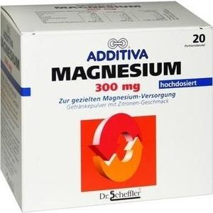 Additiva Magnesium 300 Mg Pulver Preisvergleich