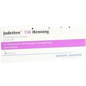 Jodetten 150 Henning Preisvergleich