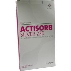 Actisorb 220 Silver 19x10,5 Cm Steril Preisvergleich