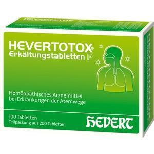Hevertotox Erkaeltungstabletten