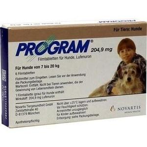 PROGRAM Tabl.f.Hunde 204,9mg 7-20kg Preisvergleich