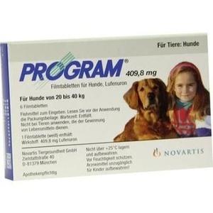 PROGRAM Tabl.f.Hunde 409,8mg 20-40kg Preisvergleich