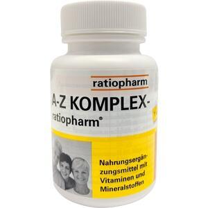 A Z Komplex Ratiopharm Preisvergleich