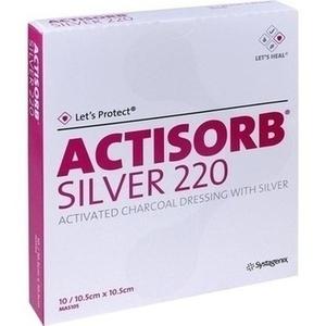 Actisorb 220 Sil 10.5x10.5 Preisvergleich