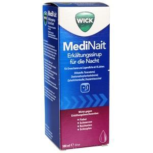 Wick Medinait Erkältungssirup für die Nacht Preisvergleich
