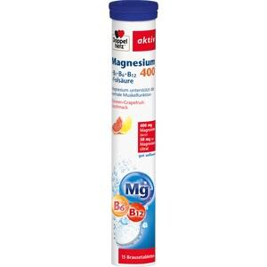 DOPPELHERZ Magnesium 400 + B Vit.+Fols.Br.Tabl. Preisvergleich