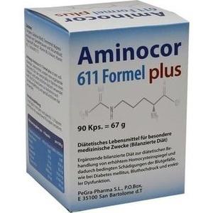 AMINOCOR 611 Formel plus Kapseln Preisvergleich
