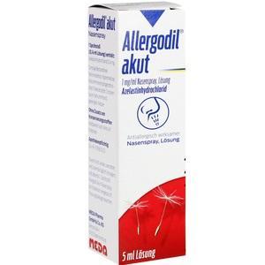 Allergodil Akut Nasenspray Preisvergleich