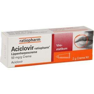 Aciclovir Ratiopharm Lippenherpes Preisvergleich