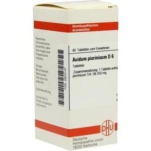 Acidum Picrinicum D 6 Tabl. Preisvergleich
