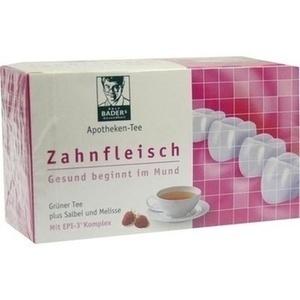 BADERS Apotheken Tee Zahnfleisch Filterbtl. Preisvergleich