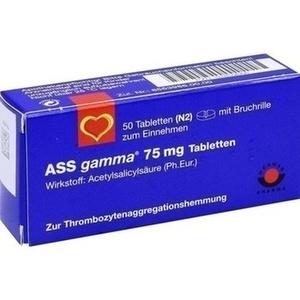 Ass Gamma 75mg Tabletten Preisvergleich