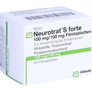 Neurotrat S Forte Filmtabl. Preisvergleich