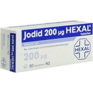 Jodid 200 Hexal Preisvergleich