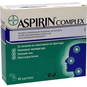 ASPIRIN Complex Granulat Btl.