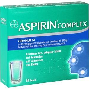 Aspirin Complex Beutel Preisvergleich